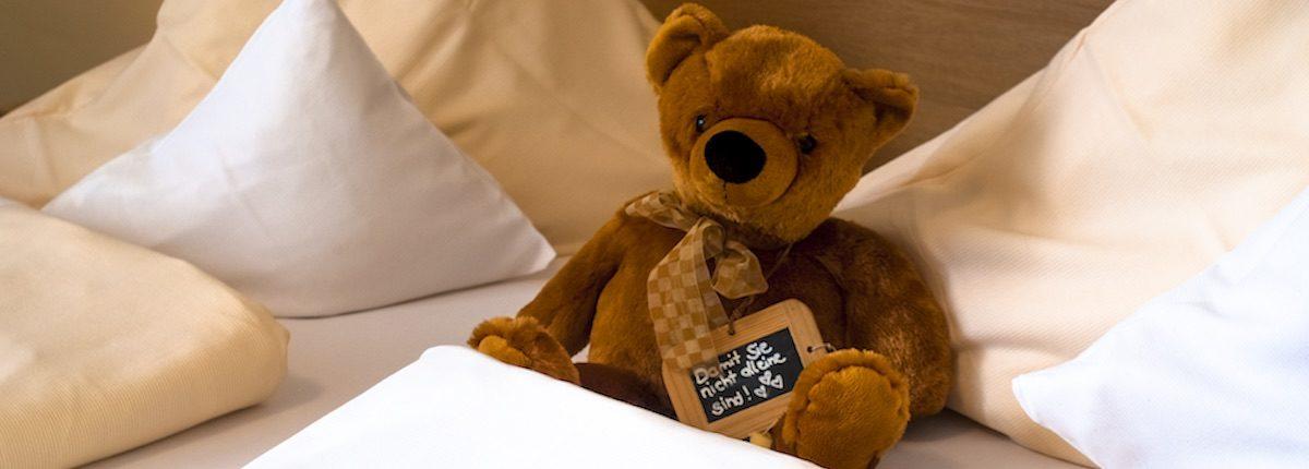 Zimmer mit Bär